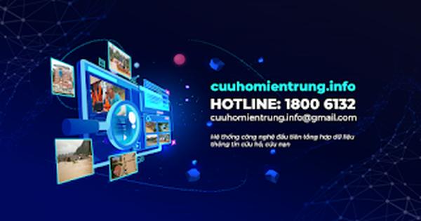 Ứng dụng công nghệ hỗ trợ cứu hộ lũ lụt tại địa chỉ cuuhomientrung.info