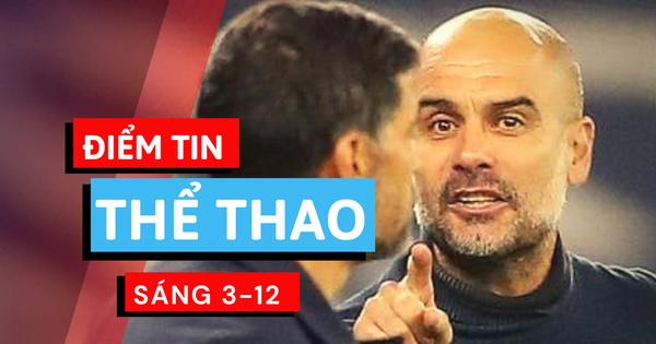 Điểm tin thể thao sáng 3-12: Man City nổi giận với Porto, xác định hai cặp đấu bán kết SV-League