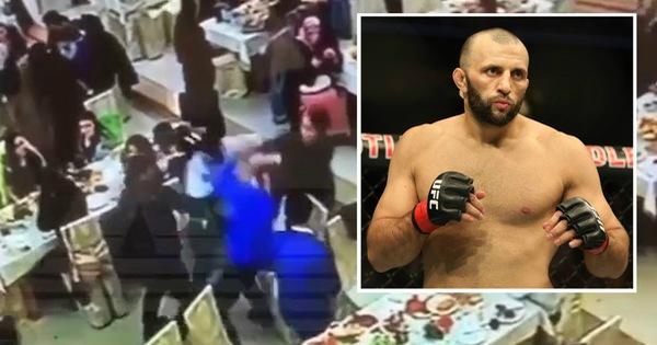 Ỷ mình là 'cao thủ', võ sĩ MMA gây sự đánh nhau ở đám cưới và bị đánh té 'sấp mặt' - vietllot 655