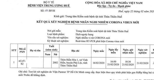 Bệnh viện khẳng định nữ sinh lớp 12 tử vong ở Huế âm tính với corona