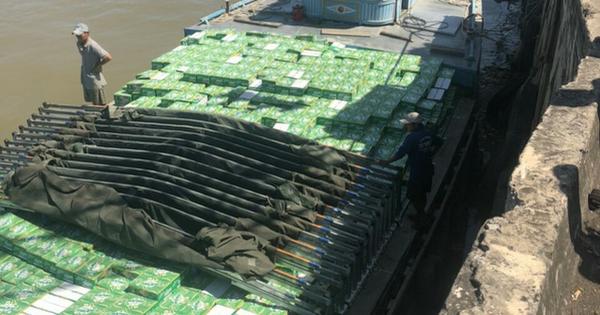 Khởi tố vụ buôn lậu nước giải khát trị giá hơn 8,6 tỉ đồng