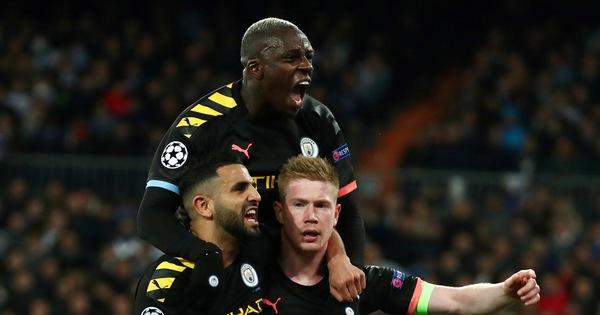 De Bruyne 'hóa thánh', Man City thắng ngược Real Madrid tại Bernabeu