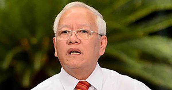 Cảnh cáo nguyên chủ tịch UBND TP.HCM Lê Hoàng Quân