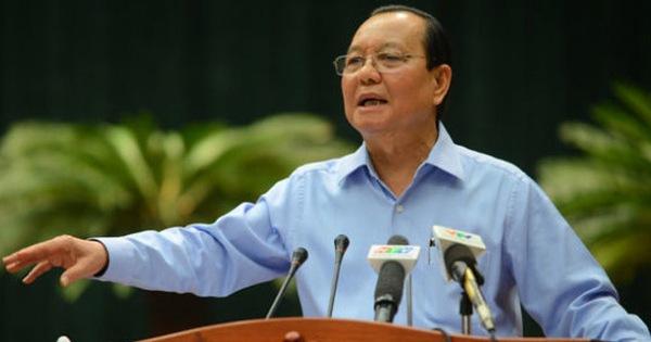 Cách chức nguyên bí thư Thành ủy TP.HCM với ông Lê Thanh Hải