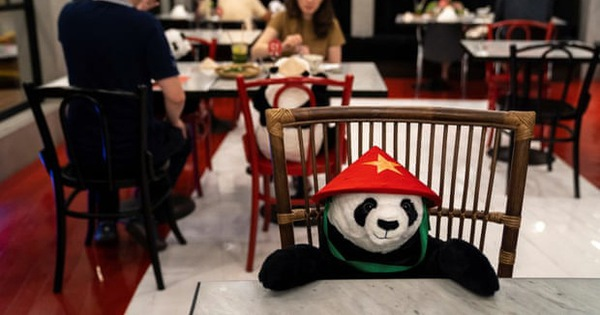 Nhà hàng Việt ở Thái Lan cho khách ngồi ăn với gấu bông