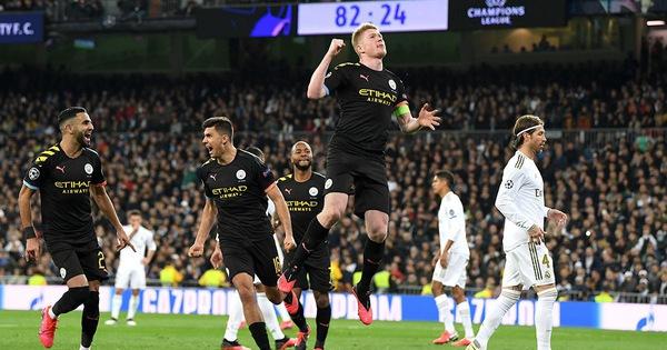 Man City được đá sân nhà trận gặp Real ở Champions League