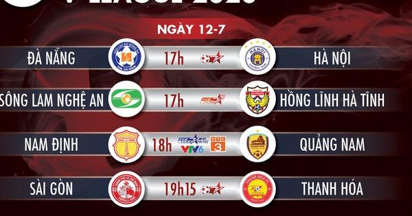 Lịch trực tiếp vòng 9 V-League 12-7: Sài Gòn đụng độ Thanh Hóa - kết quả xổ số trà vinh
