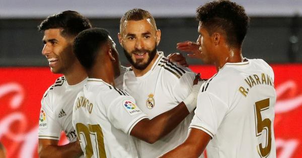 Real Madrid tái lập khoảng cách 4 điểm với Barca - xổ số ngày 15102019
