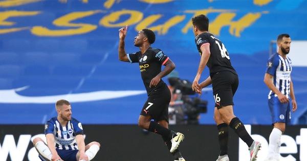 Sterling lập hat-trick, Man City đại thắng Brighton 5-0 - kết quả xổ số trà vinh