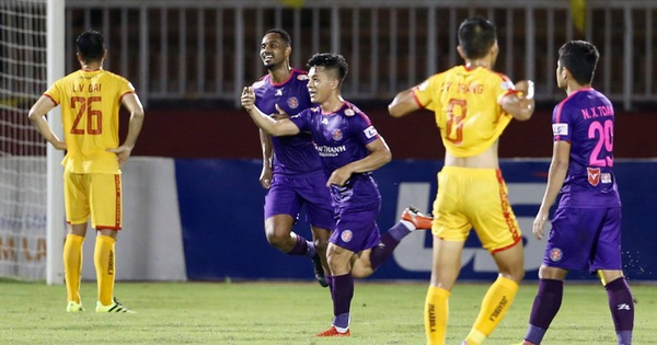 Cập nhật kết quả vòng 9 V-League 2020 chiều 12-7: Sài Gòn có bàn thắng thứ 3 trước Thanh Hóa