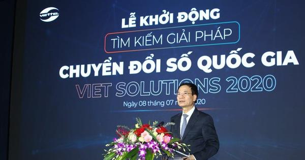 Viet Solutions 2020: Sân chơi tìm kiếm giải pháp chuyển đổi số Việt Nam
