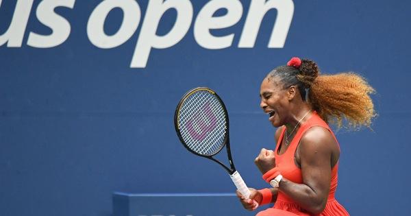Thắng ngược 'hiện tượng' Pironkova, Serena lần thứ 14 vào bán kết Mỹ mở rộng