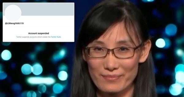 Twitter đình chỉ tài khoản học giả Trung Quốc nói corona xuất phát từ phòng thí nghiệm Vũ Hán