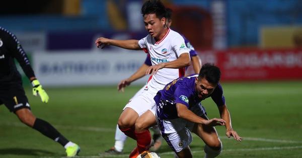 Viettel - CLB Hà Nội (hết hiệp 1): 0-0