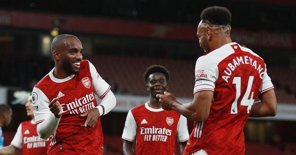 Thắng trận thứ 2 liên tiếp, Arsenal vươn lên nhóm dẫn đầu