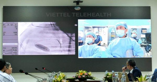 Tập thể Viettel ủng hộ 19 tỉ đồng xây dụng trung tâm hội chẩn y tế từ xa