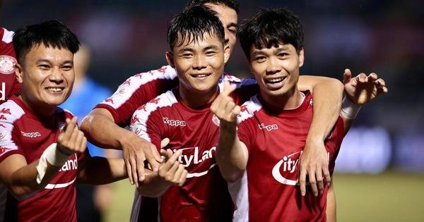 Kết quả, bảng xếp hạng vòng 12 V-League: CLB TP.HCM thắng đậm, CLB Hà Nội hòa