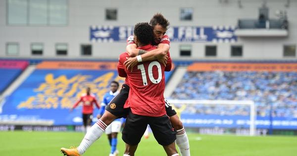 Được khung gỗ cứu thua 5 lần, Man Utd thắng nghẹt thở Brighton
