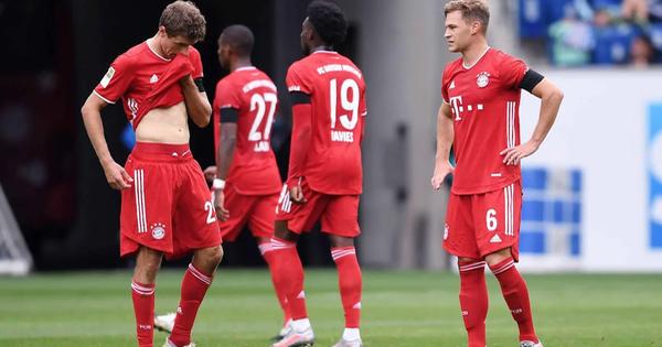 Thua đậm Hoffenheim, Bayern đứt mạch bất bại suốt 9 tháng