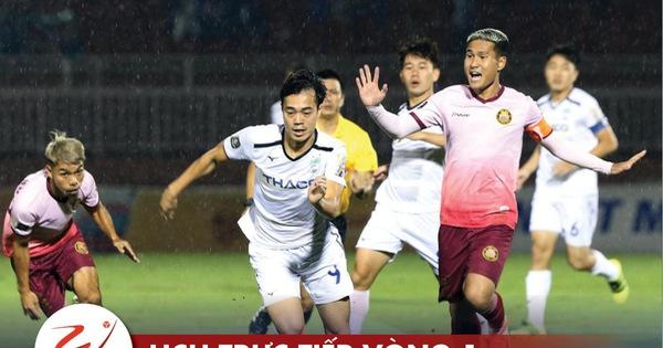 Lịch trực tiếp vòng 1 V-League 17-1: Kiatisak 'ra mắt' khi HAGL gặp Sài Gòn