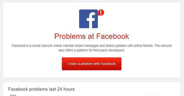Nhiều người dùng bị lỗi đăng xuất khỏi tài khoản, Facebook nói gì?