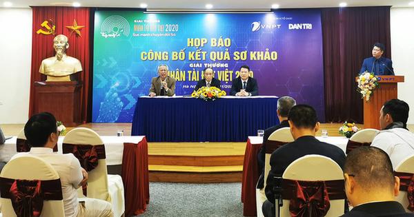 18 sản phẩm vào chung khảo Nhân tài Đất Việt 'Sức mạnh chuyển đổi Số'