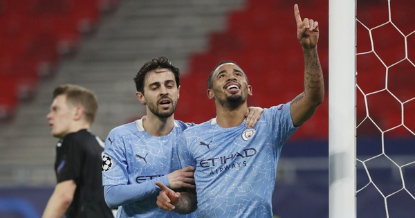 Man City thắng dễ Monchengladbach ở Champions League