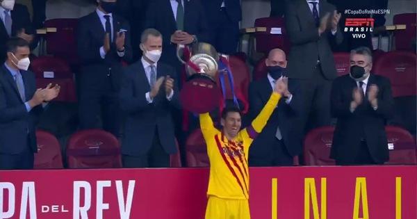 Lionel Messi: 'Đây là chiếc Cúp đặc biệt đối với tôi…'