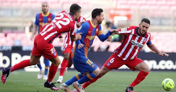Barca chia điểm với Atletico Madrid ở trận 'chung kết sớm' - xs thứ hai
