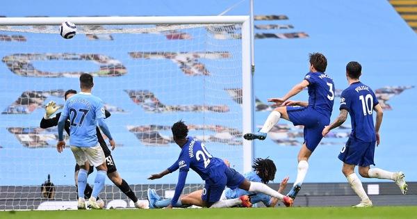 Thua ngược Chelsea, Man City chưa thể lên ngôi vô địch - xs thứ hai