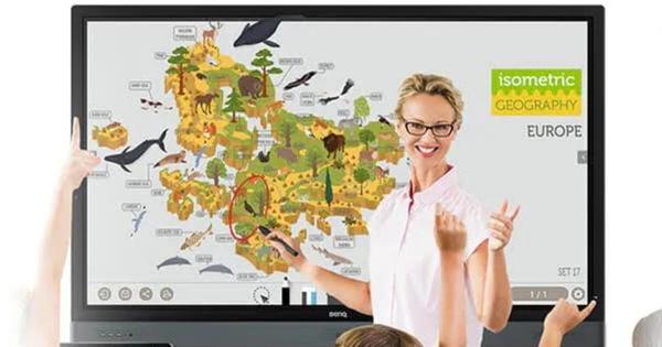 BenQ giữ vị trí số một thị phần màn hình tương tác IFP