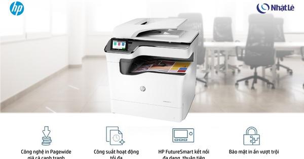 HP Pagewide MFP P77440dn - Máy in đa chức năng lý tưởng cho doanh nghiệp