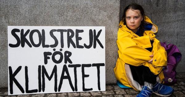 Hiện tượng Greta Thunberg và phong trào ''Những thứ sáu vì tương lai''