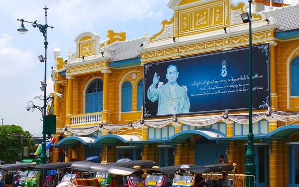 Chuẩn bị cho lễ hoả táng Nhà vua Thái Lan