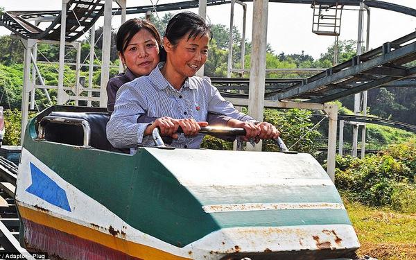 Lọt vào trong công viên giải trí Triều Tiên có gì vui?