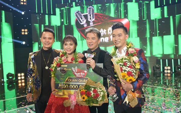 Thiên Vũ - Tùng Chinh chiến thắng tại Tuyệt đỉnh song ca 2017