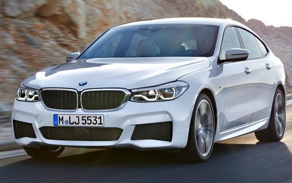 6 Series GT 2017: chiếc hatchback sang trọng, rộng rãi của BMW
