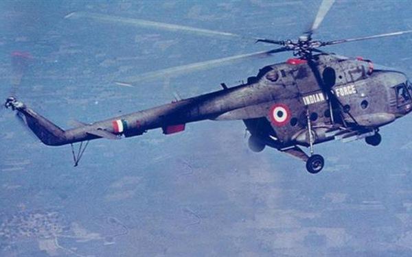 Trực thăng quân sự Ấn Độ gặp nạn, 7 người thiệt mạng