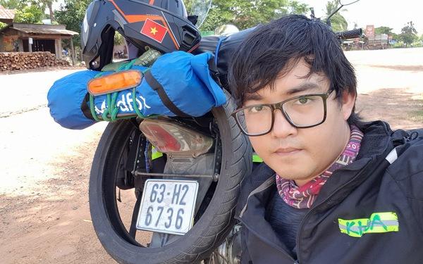 Đi xe máy tới Paris, Trần Đặng Đăng Khoa tiêu 10.000 USD