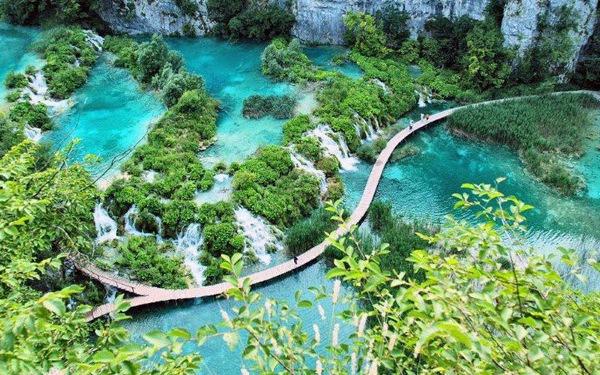 Cảnh đẹp như cõi mộng trong vườn quốc gia Plitvice Lakes