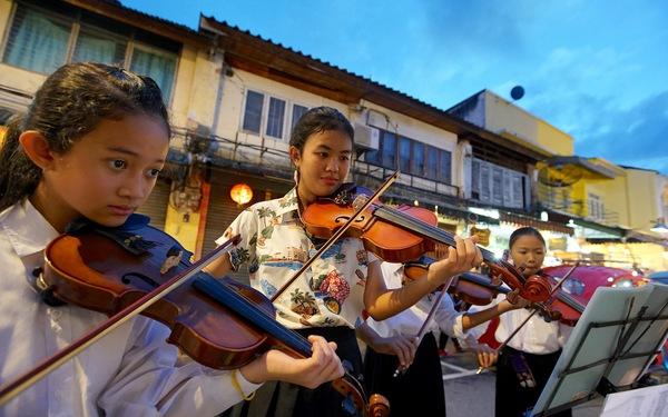 Lạc vào phố cổ Phuket