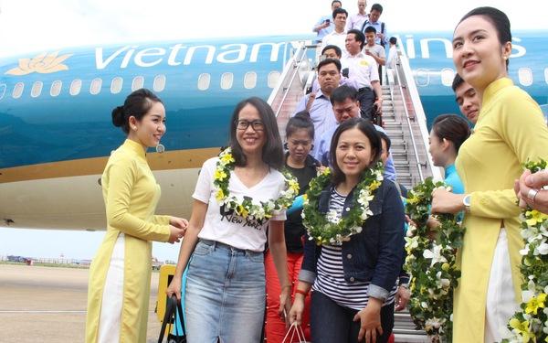 Vietnam Airlines bước vào năm 2018