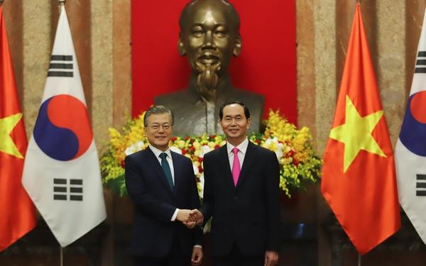 Việt Nam - Hàn Quốc nhất trí hợp tác trong 17 lĩnh vực