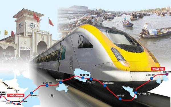 5 tỉ USD xây dựng đường sắt TP.HCM - Cần Thơ