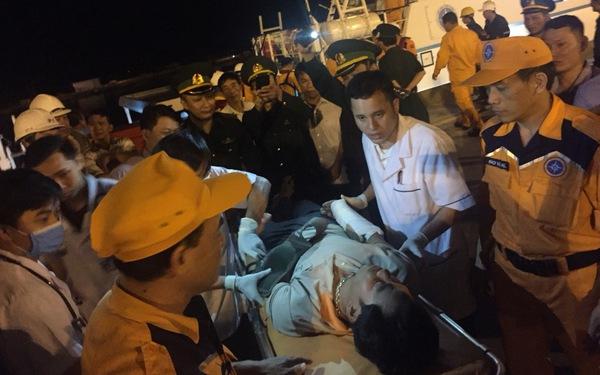 19 ngư dân của 2 tàu cá bị đâm chìm đã về đến bờ