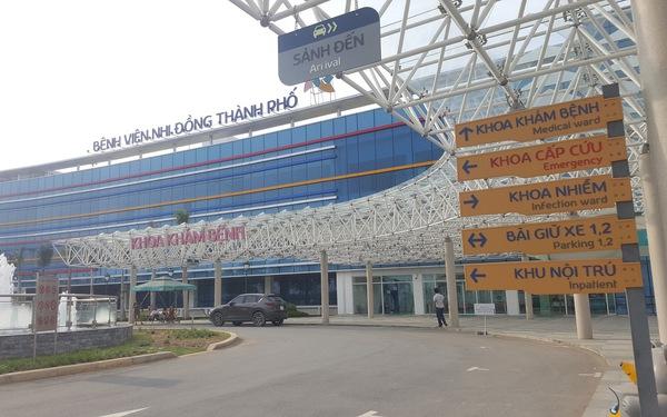 Khánh thành Bệnh viện Nhi đồng TP.HCM ngày 1-6