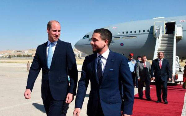 Hoàng tử William thăm chính thức nhiều nước Trung Đông