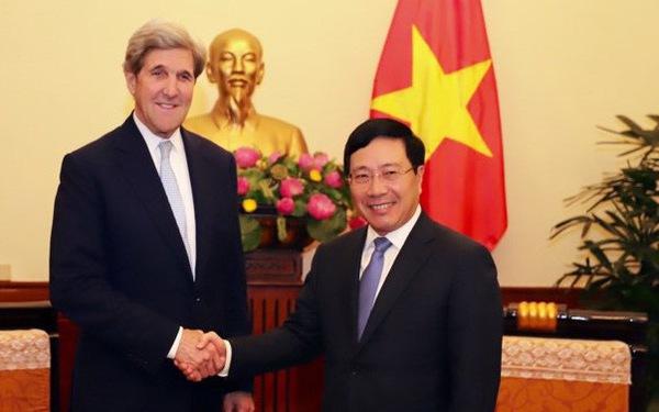 Ông John Kerry: 'Quan hệ Việt Nam - Hoa Kỳ vững mạnh và tích cực'