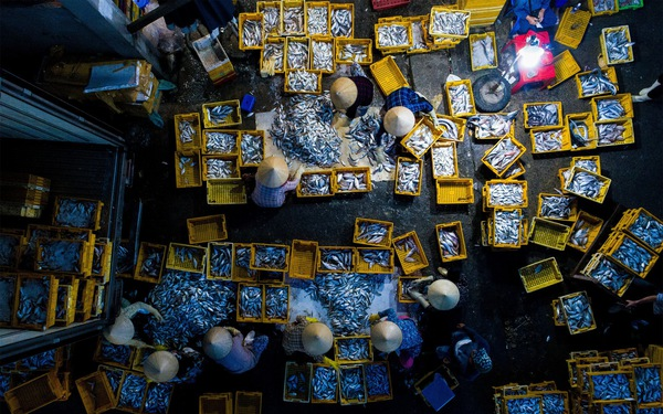 Chợ sớm ở Bà Rịa - Vũng Tàu nổi bật trên National Geographic