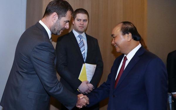 Thủ tướng Nguyễn Xuân Phúc thăm Czech, chú trọng hợp tác kinh tế